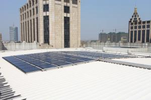 Solar Water Heating Project for Jiaxing Zhenshi Hotel
