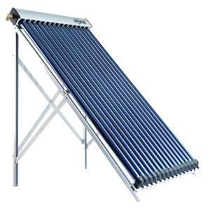 Polyurethane foaming insulation solar collector